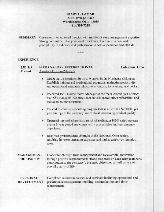 Resume Sample   Mary  Tips On How To Write A Resume